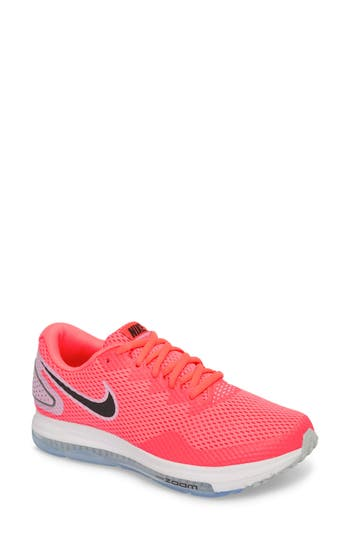 new arrival 691f5 35557 NIKE ZOOM ALL OUT LOW 2 RUNNING SHOE, HOT PUNCH BLACK
