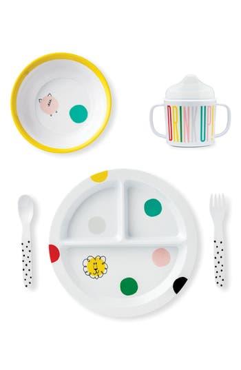 Infant Kate Spade New York Hey Baby Melamine 5Piece Dining Set