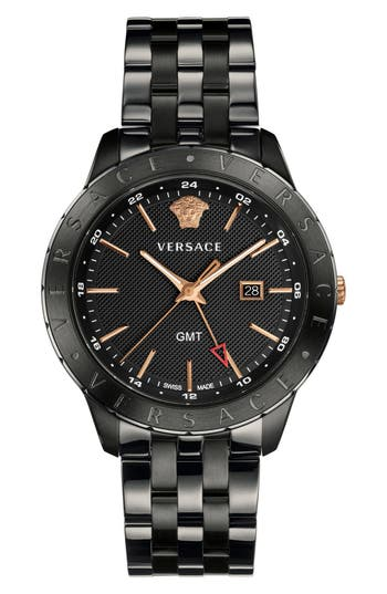 Versace Univers Bracelet Watch, 43mm
