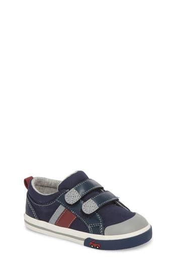 Boys See Kai Run Russell Sneaker Size 4 M  Blue