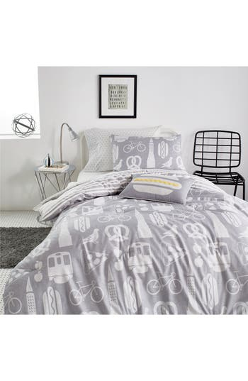 Dkny Nyc Comforter Sham  Accent Pillow Set