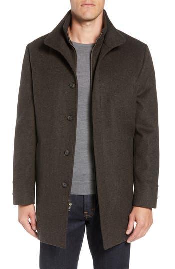 John W. Nordstrom® Hudson Wool Car Coat