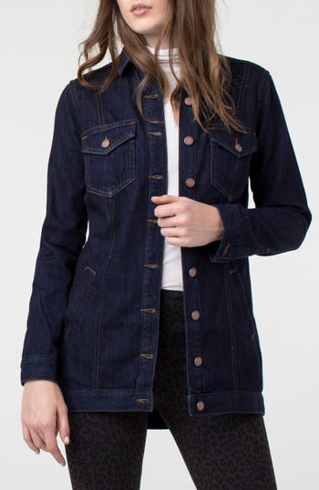 Liverpool High/Low Denim Jacket