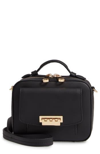 ZAC Zac Posen Earthette Small Box Leather Crossbody Bag