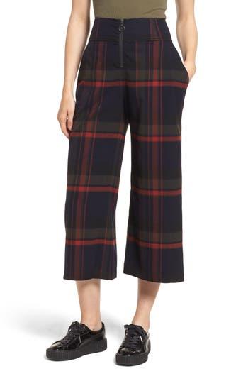 BP. Plaid Crop Pants