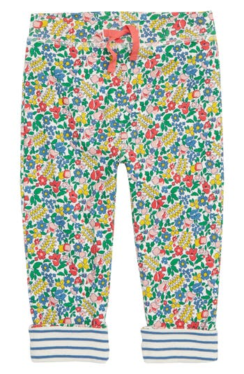 Toddler Girls Mini Boden Supersoft Reversible Pants