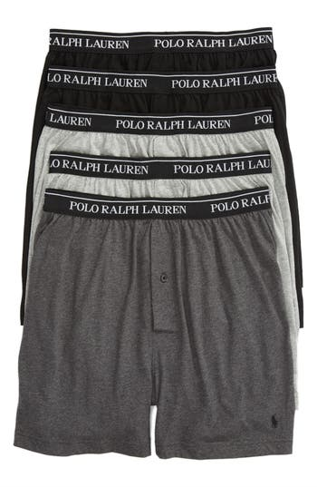 Polo Ralph Lauren 5-Pack Cotton Boxers