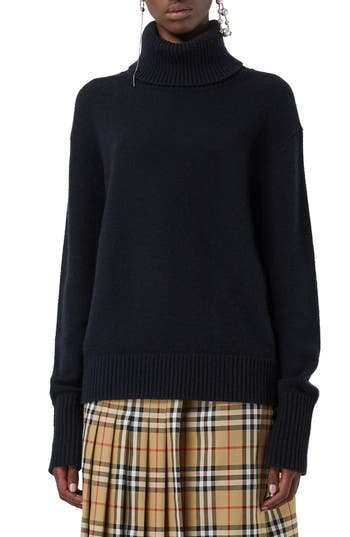 Burberry Lockeridge Archive Logo Cashmere Sweater