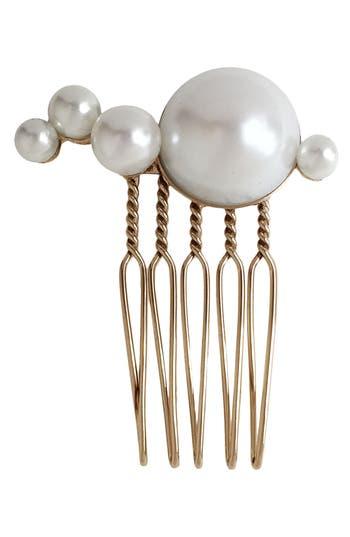 LELET NY Mercury Imitation Pearl Comb