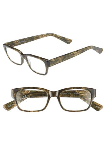 CORINNE MCCORMACK 'SYDNEY' 51MM READING GLASSES - MOSS GREEN