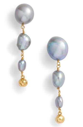 gorjana Vienna Freshwater Pearl Drop Earrings