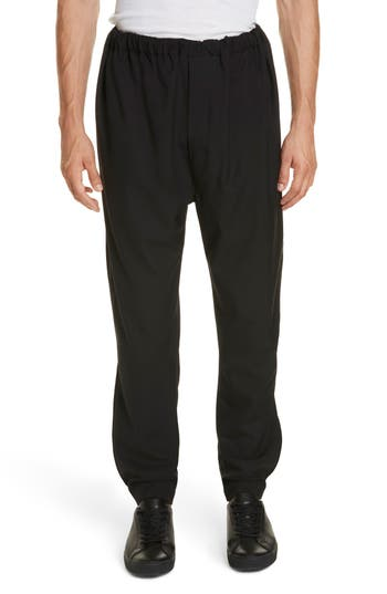 LEMAIRE Tapered Leg Wool Pants