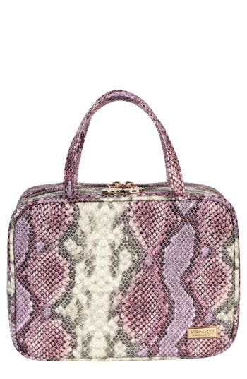 Stephanie Johnson Java Plum Traveler Cosmetics Case