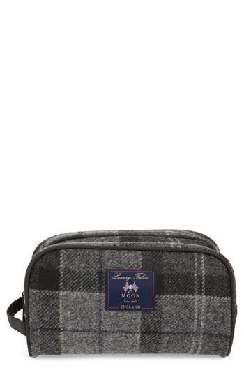 Barbour Shadow Tartan Wool Travel Kit
