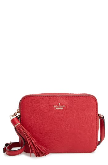 kate spade new york kingston drive – arla leather crossbody bag
