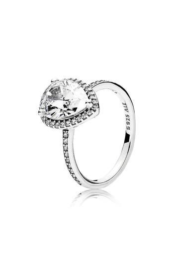 PANDORA Radiant Teardrop Ring