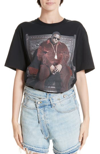 R13 Biggie Throne Curtis Tee