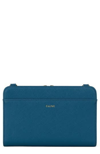 CALPAK Faux Leather RFID Travel Wallet