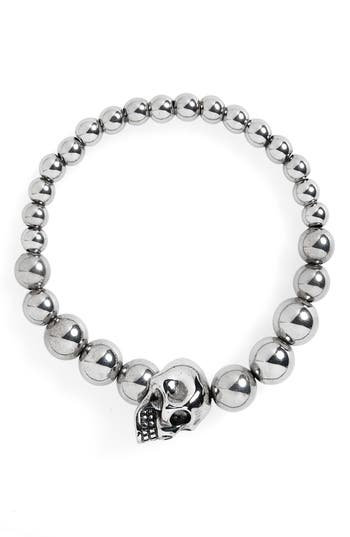 Alexandar McQueen Skull Ball Bracelet