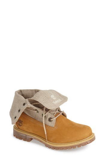 Women's Timberland Earthkeepers 'Authentic' Fold-Down Boot