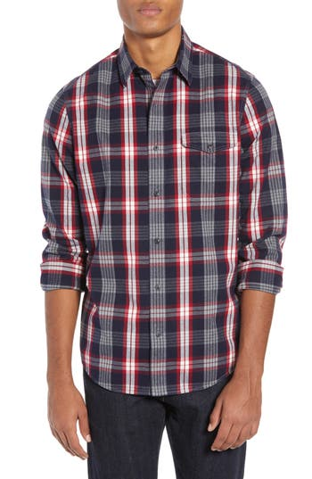 Nordstrom Men's Shop Lumber Plaid Flannel Shirt