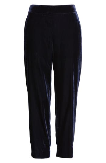 J.Crew Velvet Pull-On Easy Pants