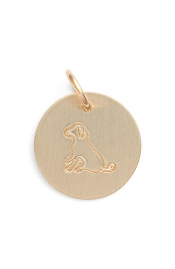 Women's Nashelle Dog Stamp Charm