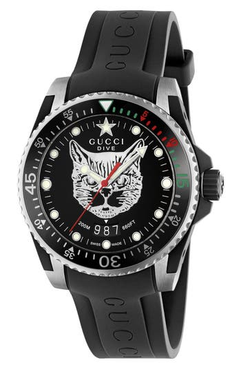 Gucci Dive Watch, 45mm