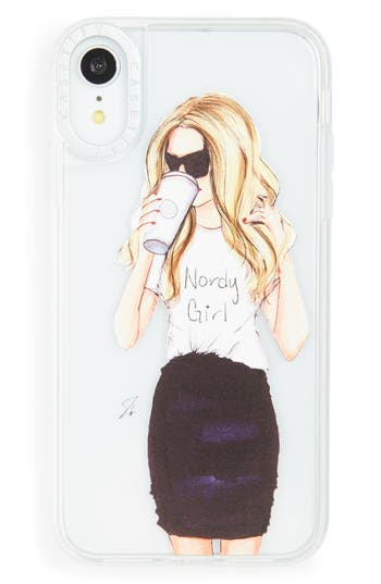 Casetify Nordy Girl Grip iPhone X/Xs, XR, X Max Case