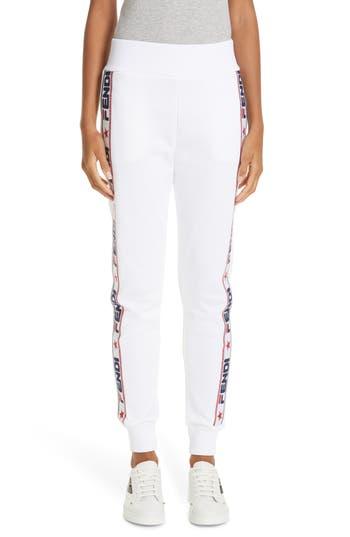 Fendi x FILA Mania Logo Jersey Track Pants