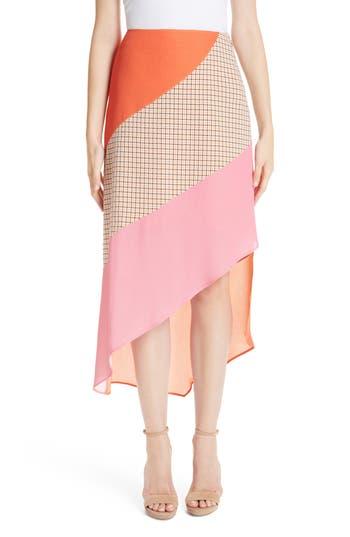Rejina Pyo Bella Colorblock Crepe Skirt