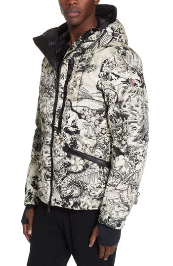 Moncler Coulmes Tattoo Down Puffer Jacket