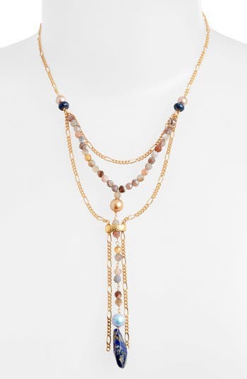 Cynthia Desser Layered Y-Necklace