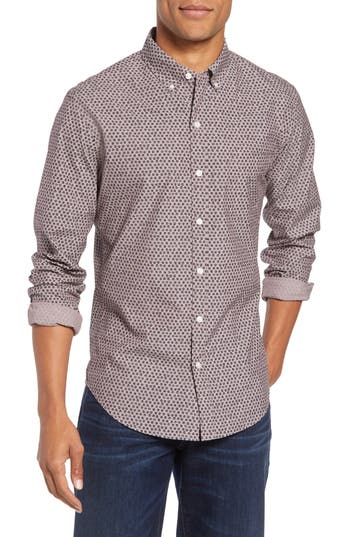 Bonobos Washed Button Down Slim Fit Print Sport Shirt
