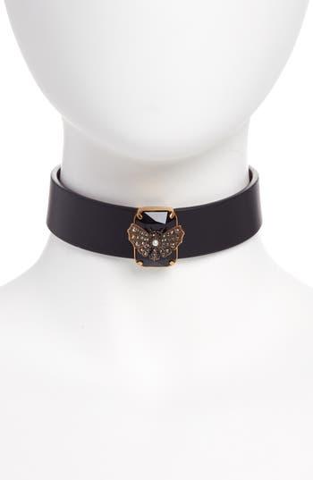Alexander McQueen Butterfly Choker Necklace