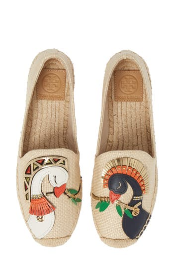 Tory Burch Something Wild Espadrille Flat