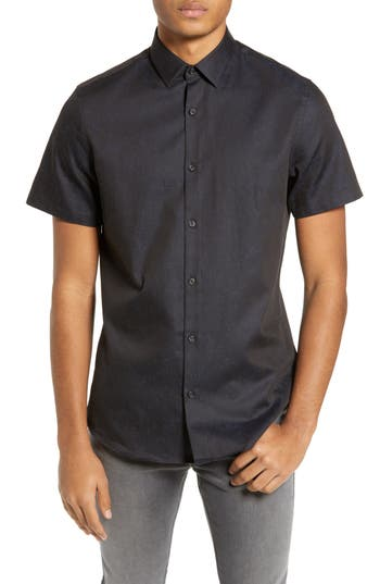 Calibrate Textured Sport Shirt