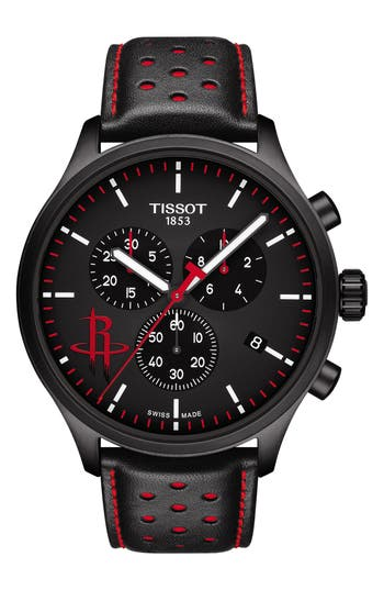 Tissot Chrono XL NBA Houston Rockets Chronograph Watch, 45mm
