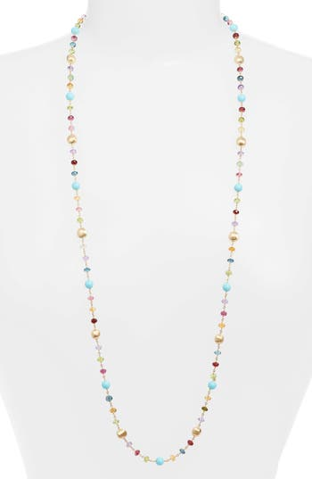 Marco Bicego Africa Semiprecious Stone Long Necklace