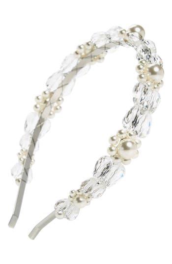 Simone Rocha Daisy Imitation Pearl & Crystal Headband