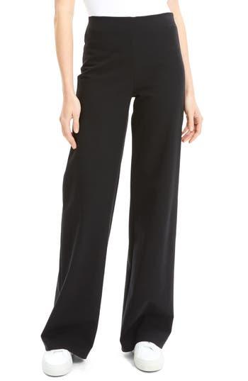 Theory Cotton Ponte Wide Leg Pants