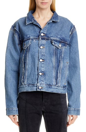 Vetements Double Sided Denim Jacket