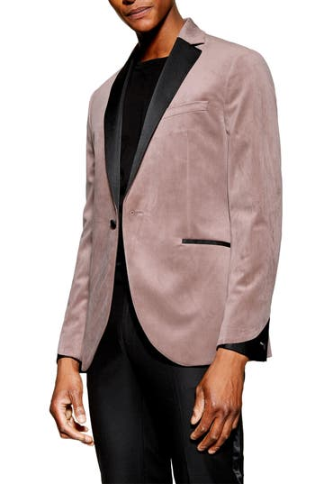 Topman Velvet Dinner Jacket