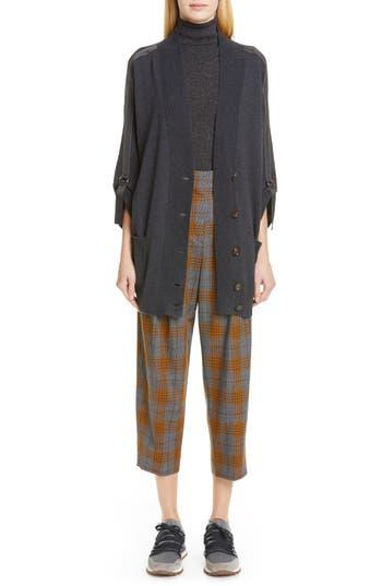 Brunello Cucinelli Sleeveless Metallic Turtleneck Sweater