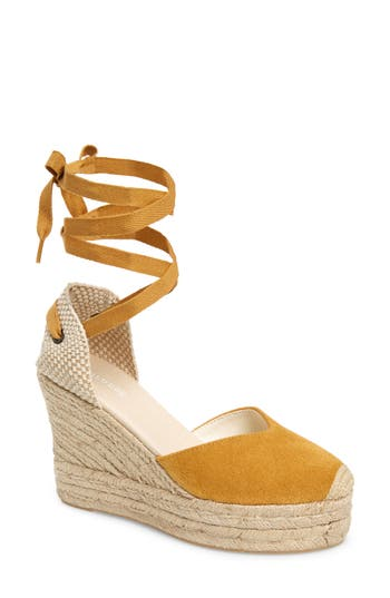 Soludos Mallorca Lace-Up Espadrille Wedge Sandal (Women)