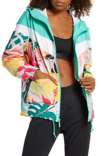 Adidas Originals Tropical Seersucker Windbreaker