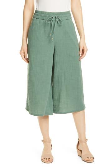 Eileen Fisher Organic Cotton Culottes (Regular & Petite)