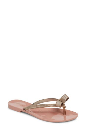 Melissa Harmonic Chrome Bow Flip Flop (Women)