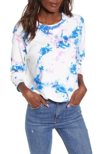 Splendid Lava Flow Print Sweatshirt