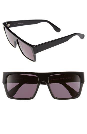 sunday somewhere female womens sunday somewhere mbp 55mm rectangular sunglasses